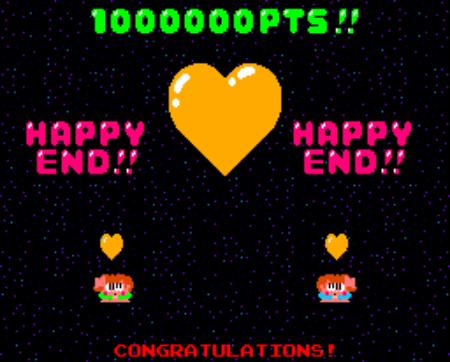 1000000 Pts - Happy End - Congratulations
