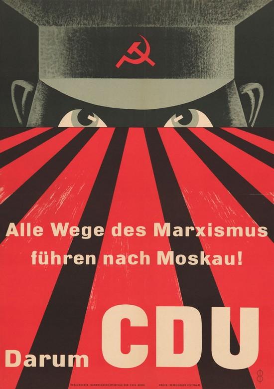 Alle Wege des Marxismus führen nach Moskau. Darum CDU