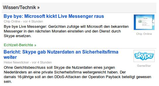 Bye bye Live Messenger: Gerüchten zufolge will Microsoft den bekannten Messenger in den nächsten Monaten einstellen und den Dienst durch Skype ersetzen. -- Ohne Gerichtsbeschluss soll Skype die Nutzerdaten eines jungen Niederländers an eine private Sicherheitsfirma weitergereicht haben.