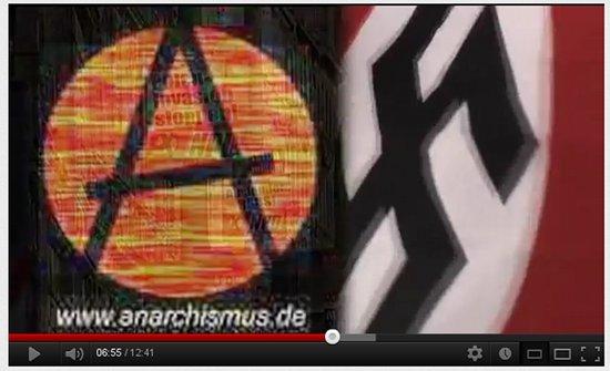 Einzelbild aus dem propagandavideo des verfassungsschutzes