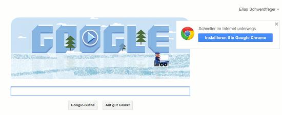Schneller im Internet unterwegs -- Installieren Sie Google Chrome