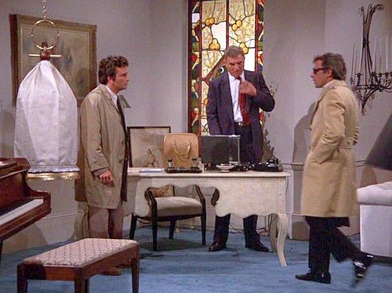 Die erste begegnung zwischen Columbo und dem mörder