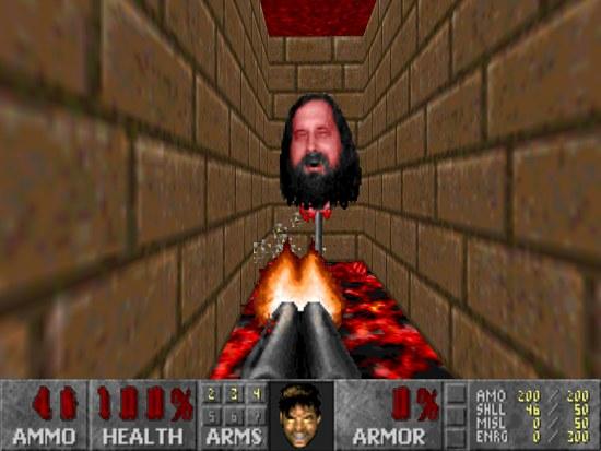Richard Stallman, der kopf hinter dem bösen