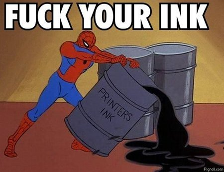 Fuck your ink!