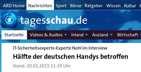 IT-Sicherheitsexperte-Experte Nohl im Interview: Hälfte der deutschen Handys betroffen