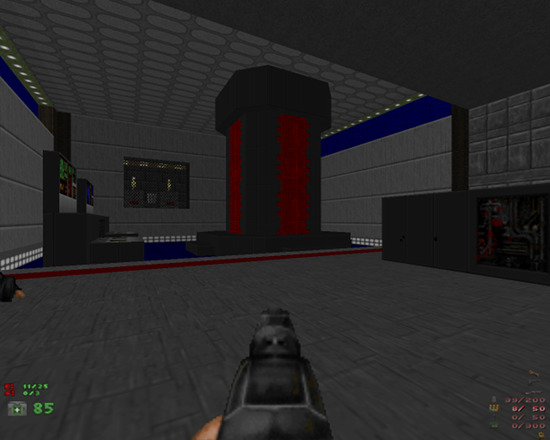 Screenshot Doom, eigene Map