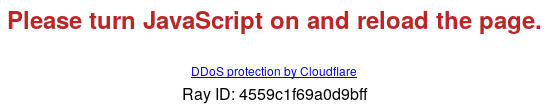 Please turn JavaScript on and reload the page. -- DDoS protection by Cloudflare -- Ray ID: 4559c1f69a0d9bff