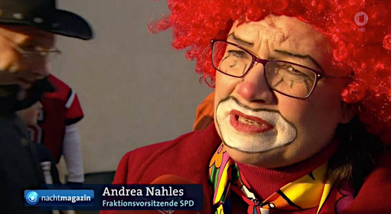 Andrea Nahles, Fraktionsvorsitzende SPD